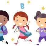 Running Kids — Stock Photo #6857028