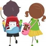 School Bags — Stock Photo #6857137