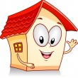 House Waving - Stock Photo