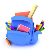 School Bag — Stock Photo