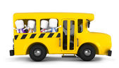 Schulbus — Stockfoto