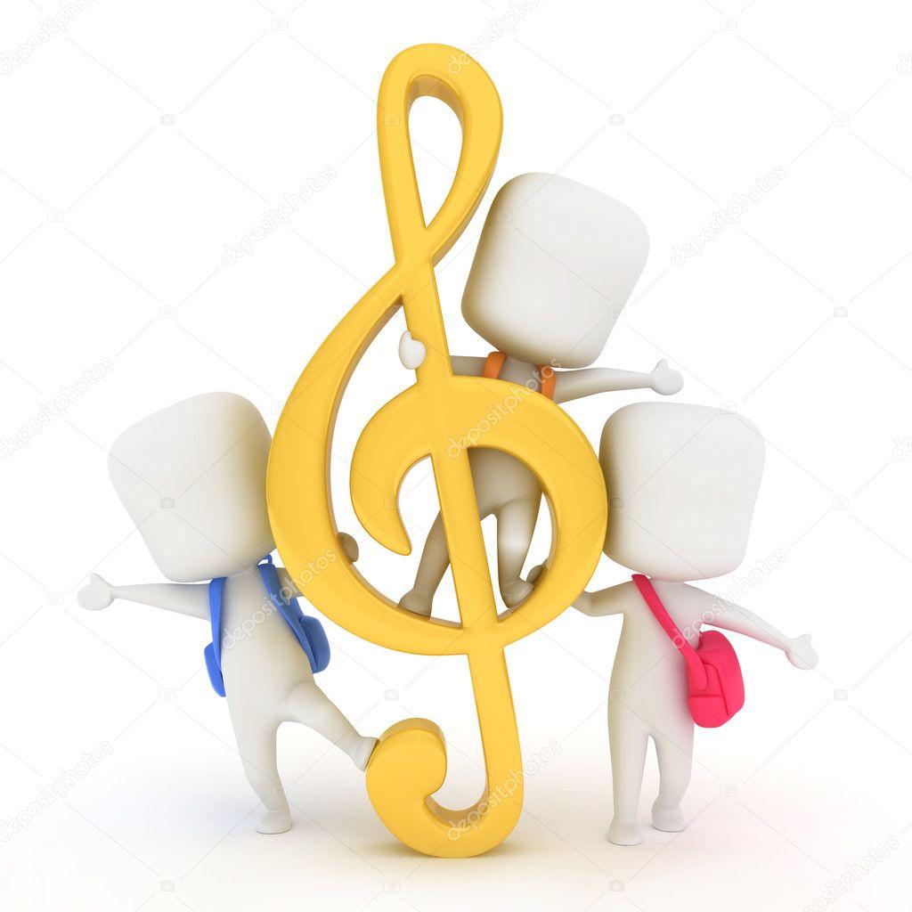картинки для детей скрипичный ключ