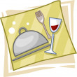 Stock Photo: Catering Icon