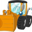 Wheel Loader - Stock Photo