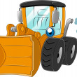 Stock Photo: Wheel Loader