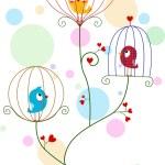 Lovebirds — Stock Photo
