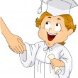 Graduation Handshake - Stock Photo