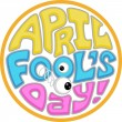 April Fool's Day Icon — 图库照片