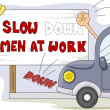 Men at Work - Stock Photo