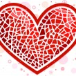 Stock Photo: Heart Mosaic