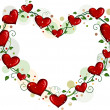 Heart-shaped Vines - Stock Photo
