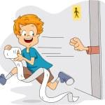 Toilet Paper Thief — Stock Photo #7476270
