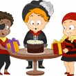 Birthday Pirate Theme — Lizenzfreies Foto