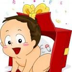 Baby Gift — Stock Photo
