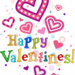 Happy Valentines — Foto Stock