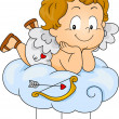Baby Cupid - Stock Photo