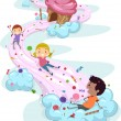 Candy Land Kids — Foto de Stock