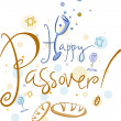 Happy Passover - Lizenzfreies Foto