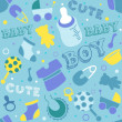 Stock Photo: Baby Boy Background