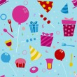 Birthday Background — Stockfoto