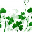 Shamrock Background - Stock Photo