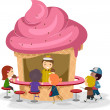 Stockfoto: Ice Cream Stall