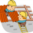 Roofer — Stock Photo #7477903