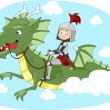 Dragon Ride — Stock Photo