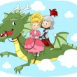 Stock Photo: Dragon Ride