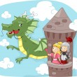Stock Photo: Dragon Tower