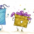 Stock Photo: Happy Gifts