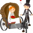 Wedding Carriage — Stock Photo #7478251
