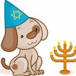 Dog Passover — Stock Photo #7478327