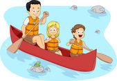 Camp Boating — Stock Photo