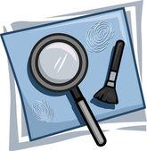 Investigator Icon — Stock Photo