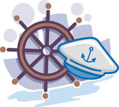 Seaman Icon — Stock Photo