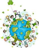 St. Patrick's Day Doodle — Stock Photo