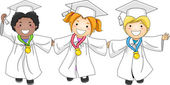 Graduation Medals — Stock Photo