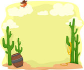 Desert Background — Stock Photo