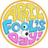 April Fool's Day Icon — Stock Photo