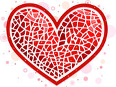 Heart Mosaic — Stock Photo