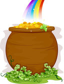 Pot of Gold — Stock Photo