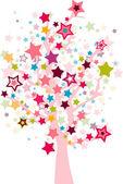 звезда дерево — Стоковое фото