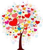 Valentijn boom — Stockfoto