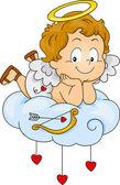 Baby Cupid — Stock Photo