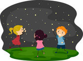 Firefly Kids — Stock Photo