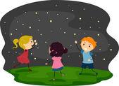 Firefly Kids — Stock Photo