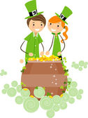 Pot of Gold — Stock Photo