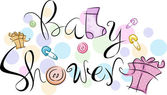 Baby Shower — Stockfoto