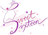 Sweet Sixteen — Stock Photo